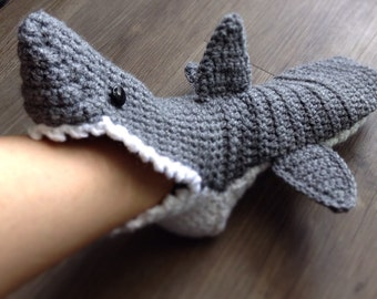 Shark slippers - Adults