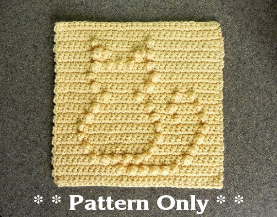 Crochet Cat Afghan Pattern : PATTERN for Crochet CAT for Baby Blanket Square Afghan