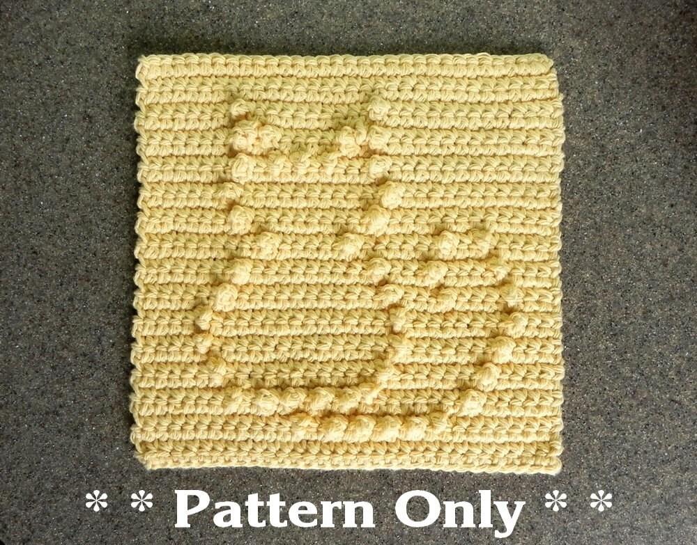 Crochet Caterpillar Baby Blanket Pattern : PATTERN for Crochet CAT for Baby Blanket Square Afghan