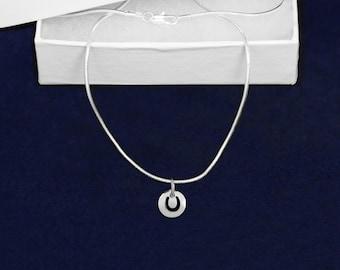 Wholesale Round Horseshoe Necklaces (18 Necklaces) (PPN-107P-H)