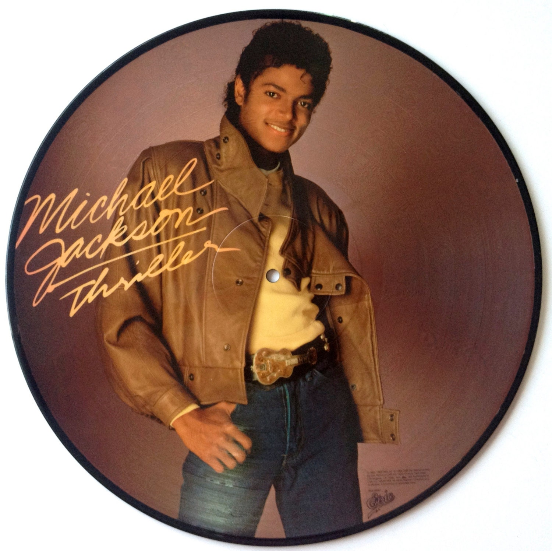 Michael Jackson Thriller Picture Disc Lp Vinyl Record Album
