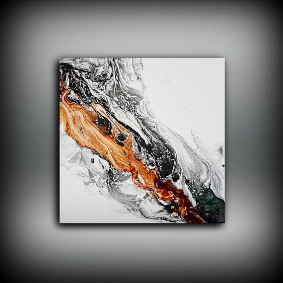 Jual Wall Art Print : Original painting art acrylic abstract