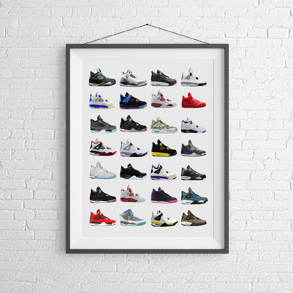 Nike Air Jordan Shoes Poster
