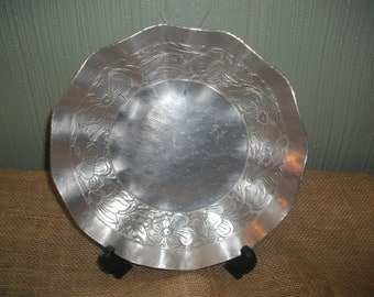 EMPC Forged Aluminum Floral Bowl