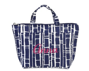 SALE // Monogrammed Insulated Cooler Tote/Lunch Bag