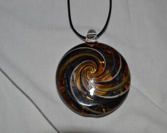 Large spiral pendant