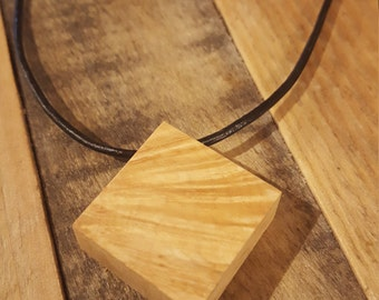Chunky American Elm Necklace - NBS083