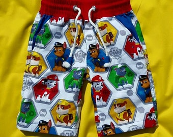 Boys Paw Patrol cotton shorts