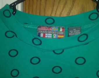 Green Spots 90s t-shirt