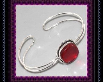 Red Aqua Mystic Bangle
