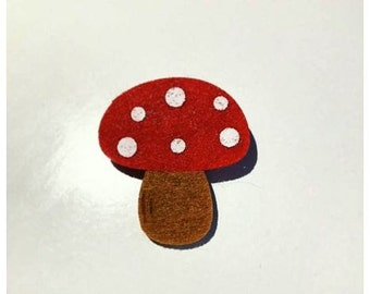 """Button """"Fly Agaric"""""""