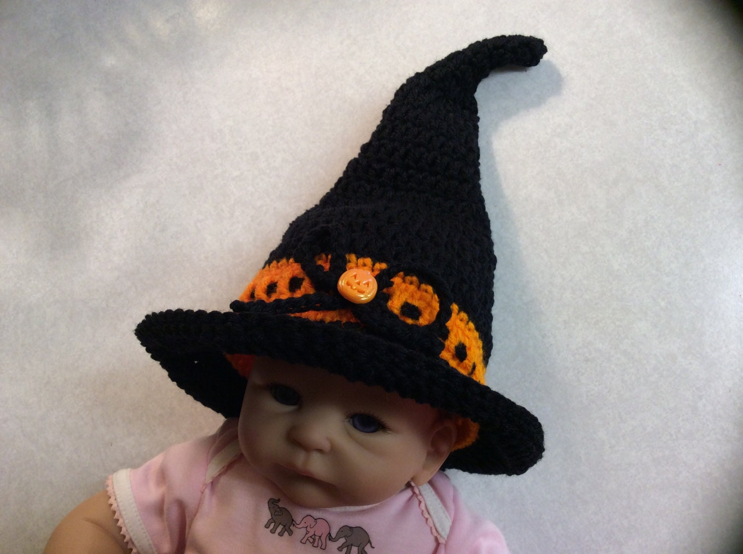 You searched for: baby halloween hat! Etsy is the home to thousands of handmade, vintage, and one-of-a-kind products and gifts related to your search. No matter what you're looking for or where you are in the world, our global marketplace of sellers can help you .
