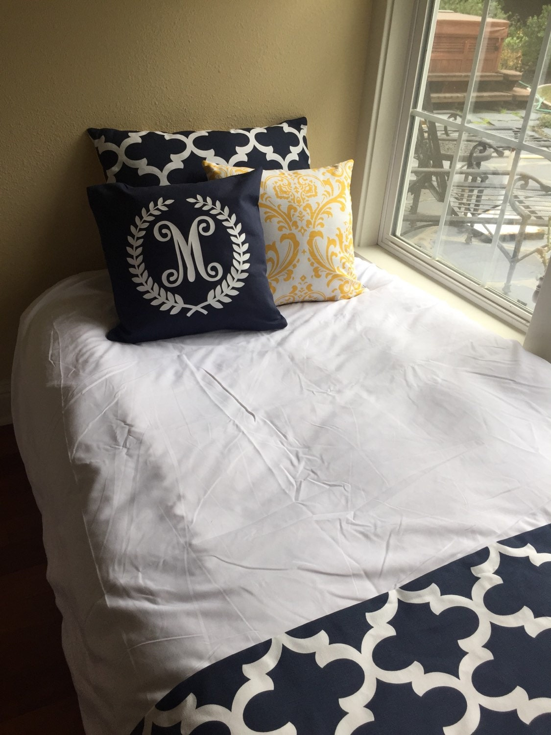Yellow And Navy Bedding 28 Images Navy Blue Bedding