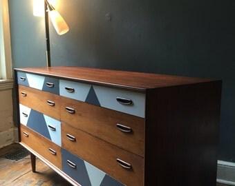 Mid century modern dresser danish modern dresser mid century credenza mid century server