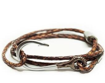 Customizable Hook & Rigging Anti-Slip Bracelet