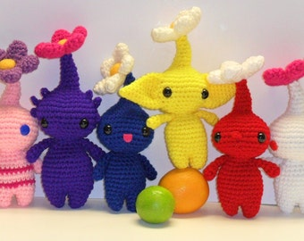 Crochet Pikmin, made to order