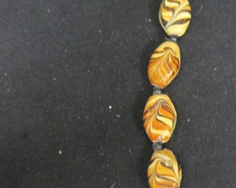 Bead Treasures Color Gallery Mahogany Glass Beads
