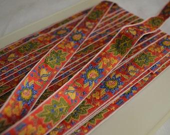 4 yards Vintage 1930s cotton woven tape unused
