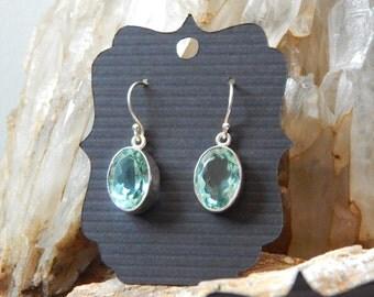 Apatite In Sterling Earrings