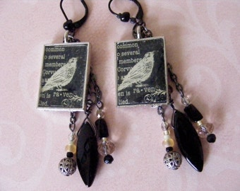 Raven Dangle Earrings