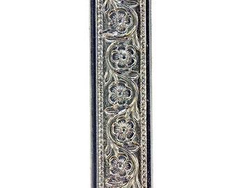 Nickel Silver Pattern Wire - FLOWER CHAIN 0.51 x 7.94mm - 1 foot piece  (NPW106)