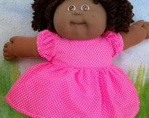 Cabbage Patch Kid - dress and knickers (panties), handmade