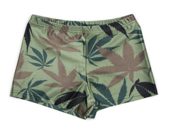Camo Weed Leaf Shorties!