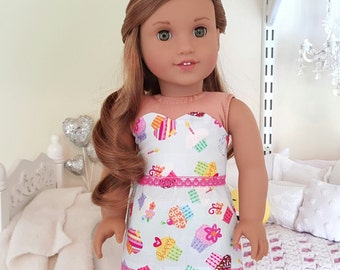 american girl doll cupcake skirt and bustier