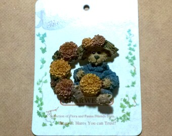 """Boyds Bears Marigold """"Fall is in the Air"""" Pin"""