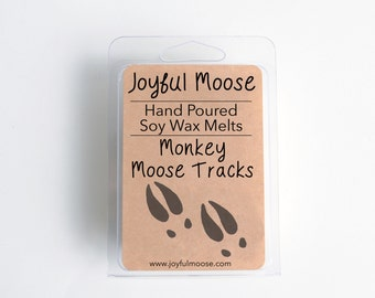 Soy Wax Melts - Monkey Moose Tracks - Scented Wax Melt