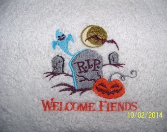 Welcome Fiends - Tea Towels/Hand Towels