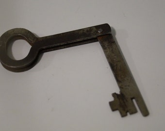 Vintage Antique Folding Key