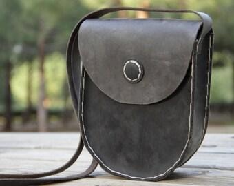 Leather Crossbody Bag,Leather Messenger Bag