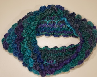 Dragon Scale Infinity Scarf