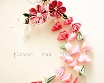 Bridal Hair Pin,Bridal Hair Flower,Pink,Bridal Fascinator,Wedding,Accessories,Floral Hair Pin,Bridesmaid Hair Pin,Pink-S11
