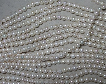 7-8mm #600 Near Round Pearls