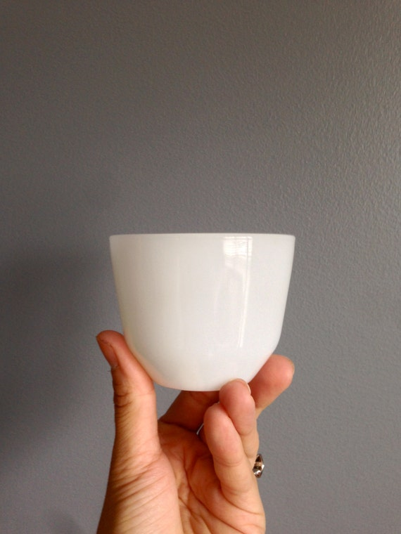 Fireking Milk Glass Prep Bowls 6 / Pinch Bowls / Milk Glass Bowls /Ice Cream Bowls/ Appetizer Bowls / gift for cook / Gifts for Her