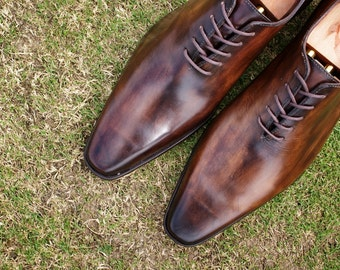 Handmade Derby Shoes - Mr Angus - The Hand Dyed Shoe Co.
