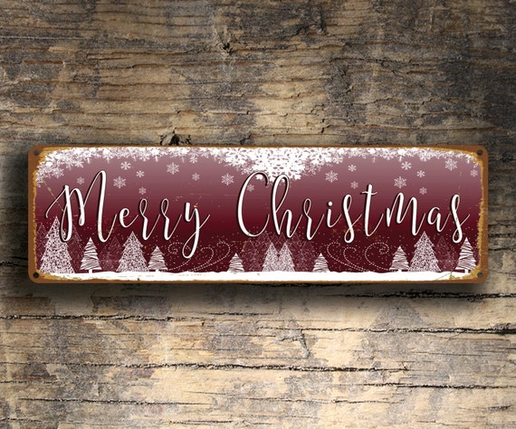 merry christmas sign christmas signs vintage style christmas