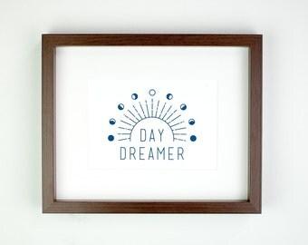 Day Dreamer Matted Art Print