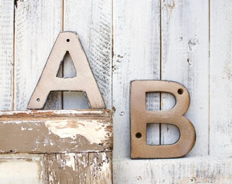 Apartment Decor, Letter A,B,C,D, Outdoor Wall Decor,