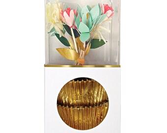Flower Cupcake Kit by Meri Meri