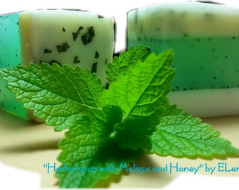 Herbal Melissa Honey Soap by Eleni