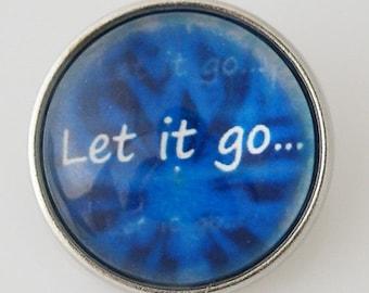 KB2807-N Art Glass Print Chunk - Let it Go