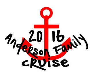 Family Cruise Shirts Anchor