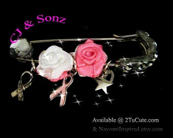 Breast Cancer Awareness Pins / Brooches