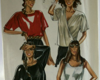 New Look 6261 Misses Blouse Sewing Pattern - Top Sewing Pattern - Camisole Sewing Pattern - New - Uncut - Size 8-10-12-14-16-18