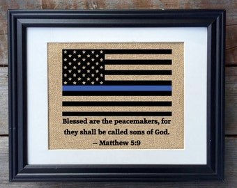 "Shop ""blessed are the peacemakers"" in Home Décor"