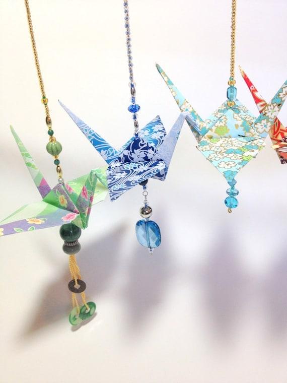 origami crane ornament origami cranes new car ornament