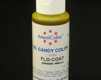 FREE SHIP Americolor FLO-Coat 2 oz. Cake Decorating Candy Making Candy Color Oil -OC2-70